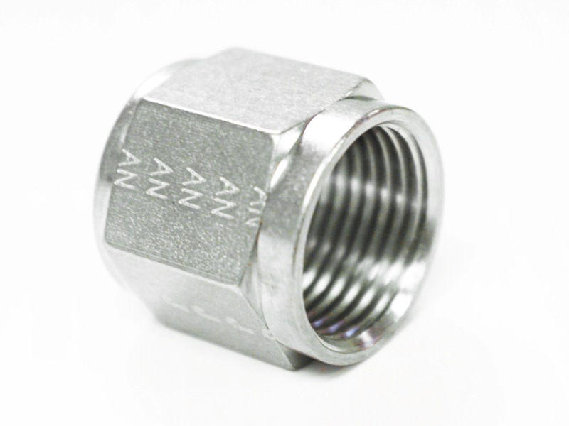 AN fittings machined by an ITAR registered hose manufacturer