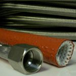 fire sleeve for hose assembly protection