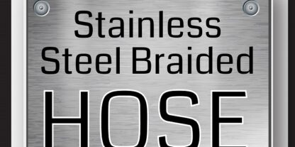 Stainless Steel Braided Hose - Feat